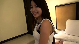 Innocent Asian hairy pussy plowed in hotel