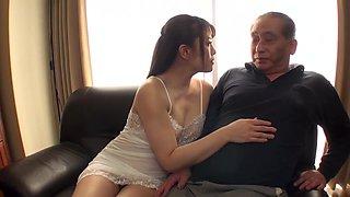 Grandpa pregnants his beautiful daughter in law hoxivex ea665j