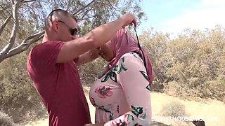 Muslim buxom hijab girl