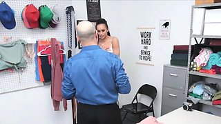 Anal at the office with stealing Latina MILF