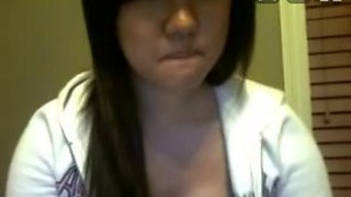 Asian immature cutie naked on stickam