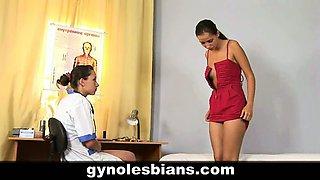 Lesbian doctor seduces teen patient