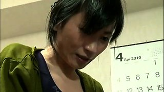 Cheating Japanese wife has her lover satisfying her desires
