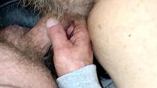 Teasing BBW Wifes Hairy Pussy