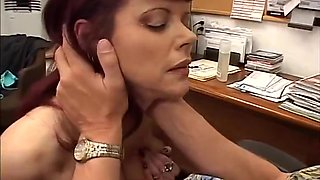Hot Older Woman Interviews For Job And Fucks Boss