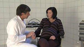 German Pregnant Milf