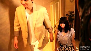 Dazzling Japanese babe has a masseur satisfying her desires