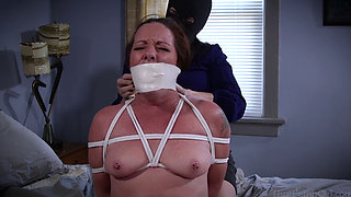 Dixie and MILF Tie Each Other Up