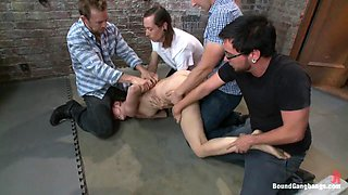 Brand New Girl Tries Anal and DP for the First Time in Take Down Scene