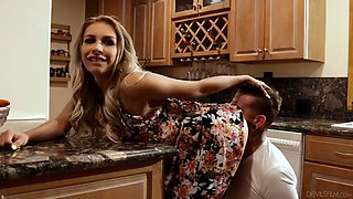 Whore wife Carmen Caliente is cheating on her husband with horny plumber