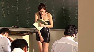 JULIA in The Only Female Teacher part 2.1