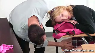 naughty schoolgirl zoe parker caught wearing no panties by pervert teacher