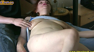 Drunk Russian Slut Fabiana