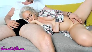 Mother &amp StepSon Share A Couch full video on : https:bit.lyVideos4FB