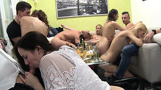 Homemade Group Swingers Orgy