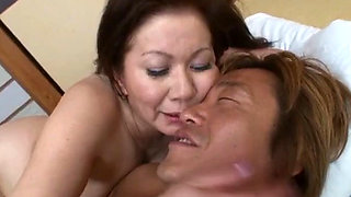 Mature Asian Chizuru Iwasaki in hot sexual action