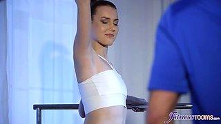 Skinny Ballerina Babe Charlie Red's MFM Threesome