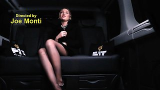 FUCKED IN TRAFFIC - Hot Russian babe fucked hard in the car