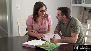 Natasha Nice And Jake Adams - Tutor Says I Would Do Anything To Get This Job S12:e9
