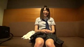 japanese beautiful teenager in high school uniform rough sex