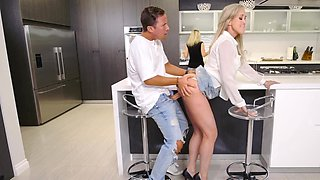 Milf fucks her friends son and gets off on his big cock
