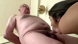 GRAMPA WANTS ACTION WITH HIS SON'S GIRLFRIEND