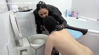 House Of Sinn Toilet Sissy Maid Training