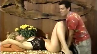 Crazy homemade Threesomes, Vintage adult clip