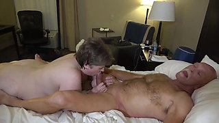 Old man fucked to orgasm with chubby amateur granny from ForSex.eu