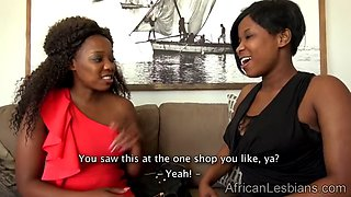 African lesbo