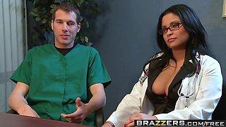 Brazzers - Doctor Adventures - NipFuck scene starring Sophia