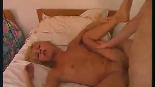 Very hot mom and daughter forced fucked by brother