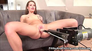 Leanna Sweet & Butterfly in 19 Year Old Butterfly Loves A Fist Up Her Pussy - FilthyAndFisting