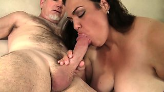 Horny Mexican Plumper Angelina gets fucked hard.