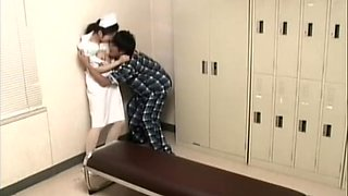 Patient decided to play with a nurse hidden camera sex