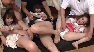 Exotic Japanese chick Mai Hanano, Misa Yuuki in Horny Dildos/Toys, Squirting/Shiofuki JAV clip
