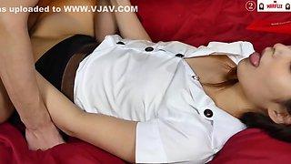 Thai University Girl・素股・sex・制服ぶっかけ
