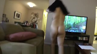 Latina 18 Year Old Daughter Helps Me Relax Pt1, 2