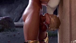 3D Futanari Wonder Woman