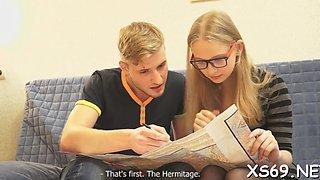 fascinating erotic sex play teen video 3