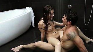 Romantic wedding anniversary gift, under the hot shower
