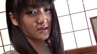 Amazing Japanese model Nana Usami in Fabulous interracial, natural tits JAV clip