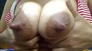 Biggest nippled cutie Lctating on cam (MrNo)