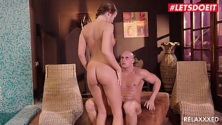 LETSDOEIT - Hardsex By The Pool With Coach #Angel Blade