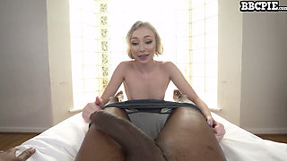 Athena May getting multiple cumshots and creampies from a monster black cock