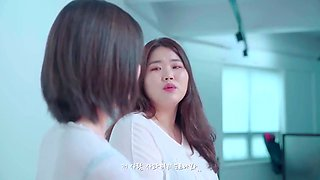 Korean schoolgirl tease