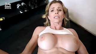 Mom is gym stuck Cory chase