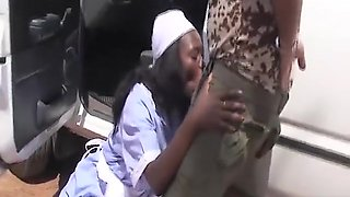 busty african housewife fucked