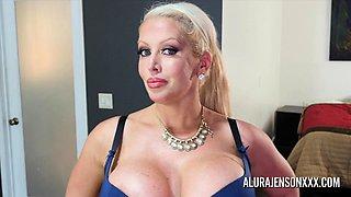 Big tit pornstar Alura Jenson fucks a hung young stud