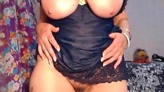 Webcam, mature pussy vibration